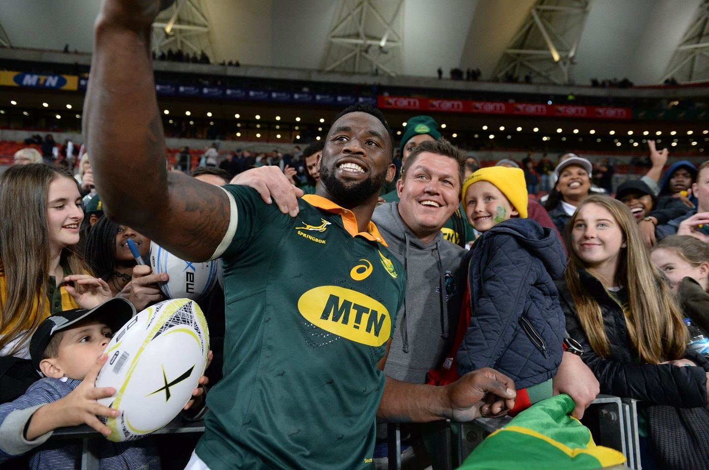 SOUTH AFRICA V GEORGIA - RUGBY CHAMPIONSHIP
