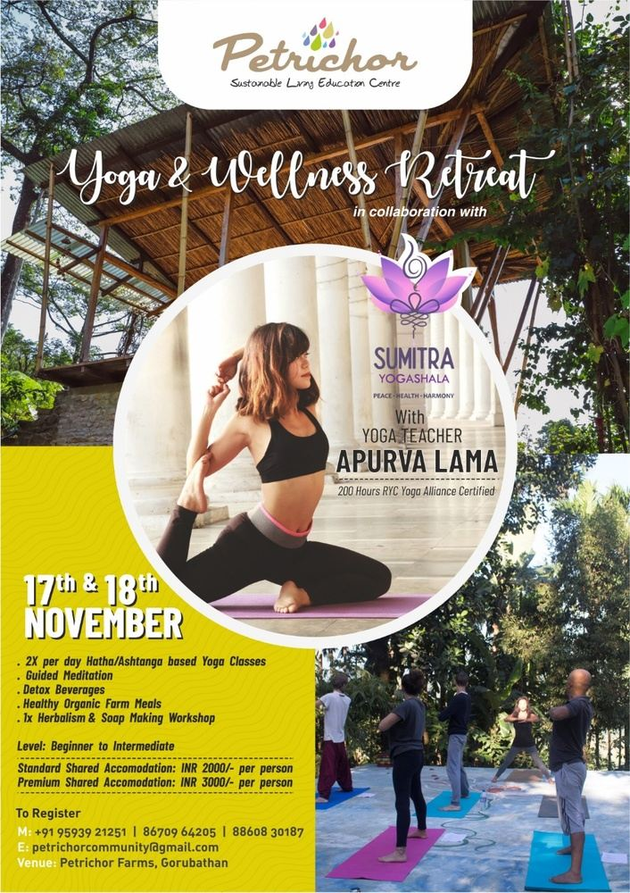 Yoga and Wellness Retreat in a beautiful Forest Farm