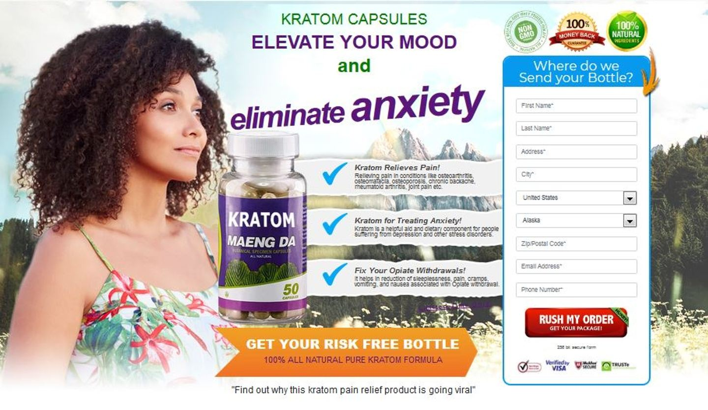 Kratom Maeng Da : Relieve Stress & Relieves Anxiety Quickly