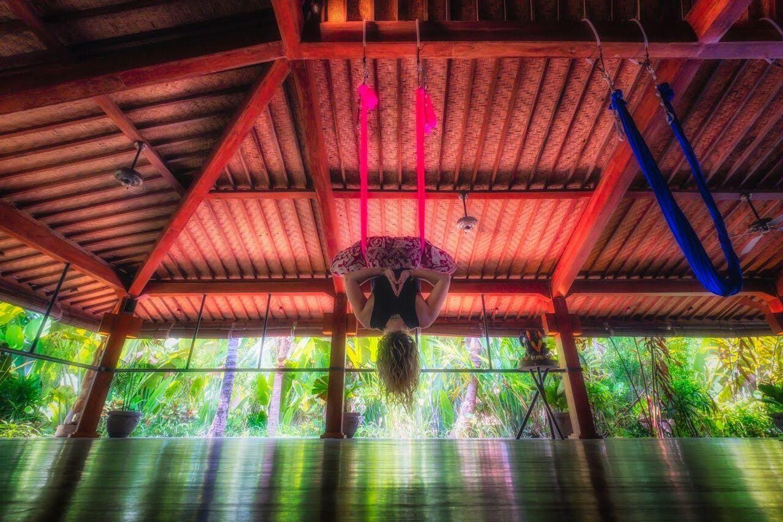 Aerial Yoga Bali Retreat