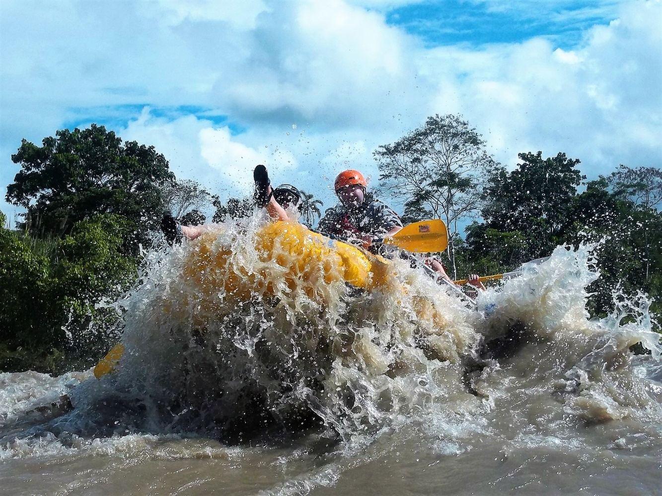 Rafting Jatunyacu River (Upper Napo)