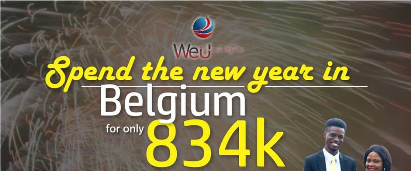 Spend the new year in Belgium