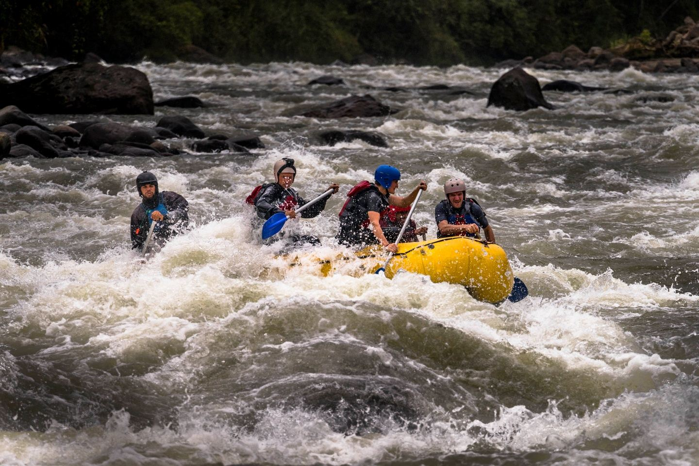Rafting Headwaters Run 2 days (Quijos River)