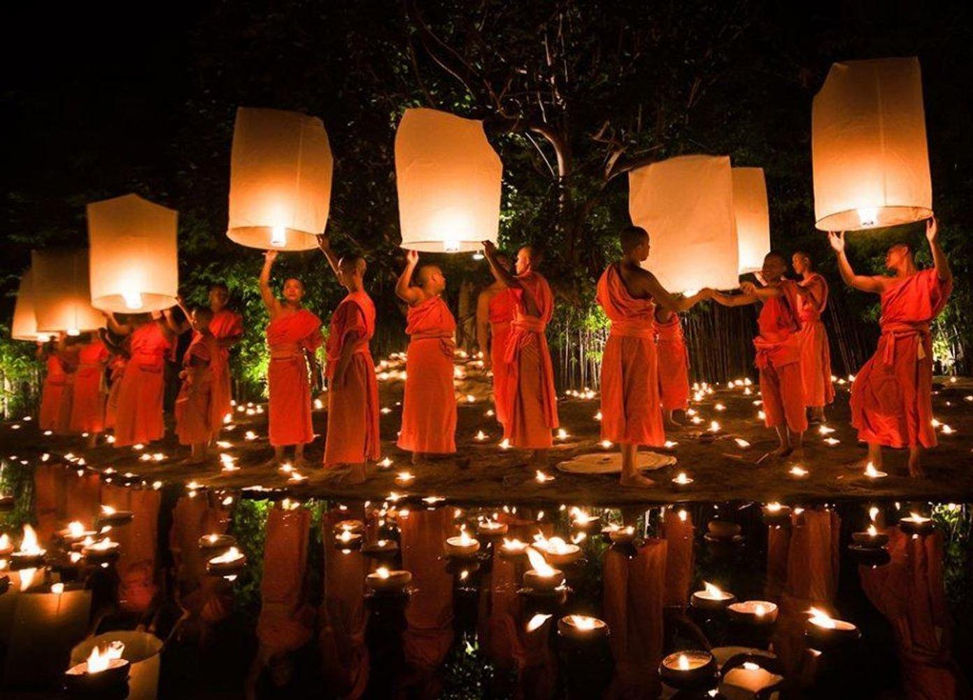Thailand For Lantern Festival