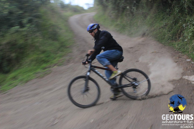 Hike & Bike Tungurahua – Full Day Tour