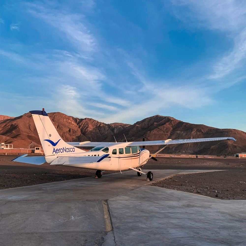 Flight over the Nazca Lines - 35 Minutes