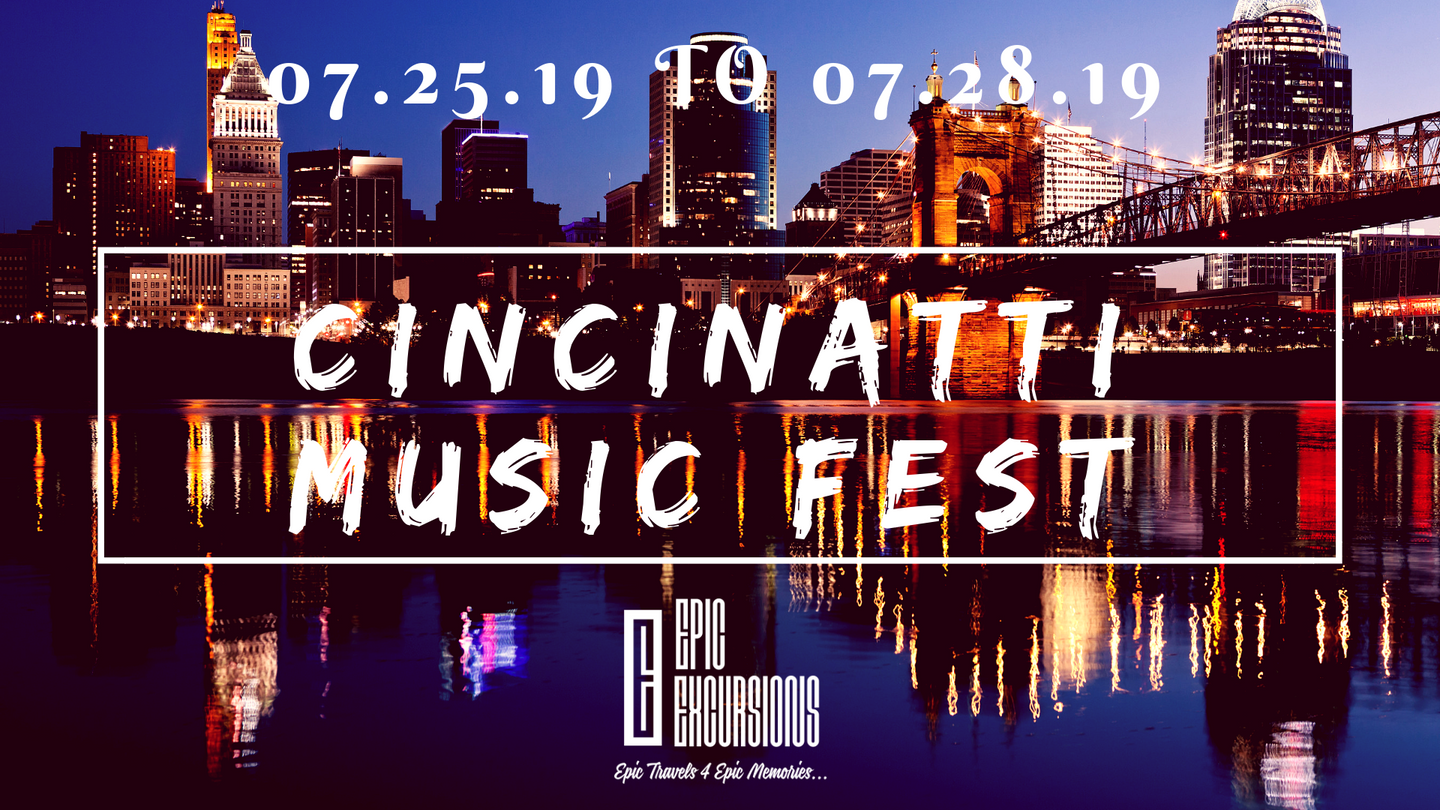 Cincinatti Music Fest Takeover!!! in Cincinnati, OH, USA