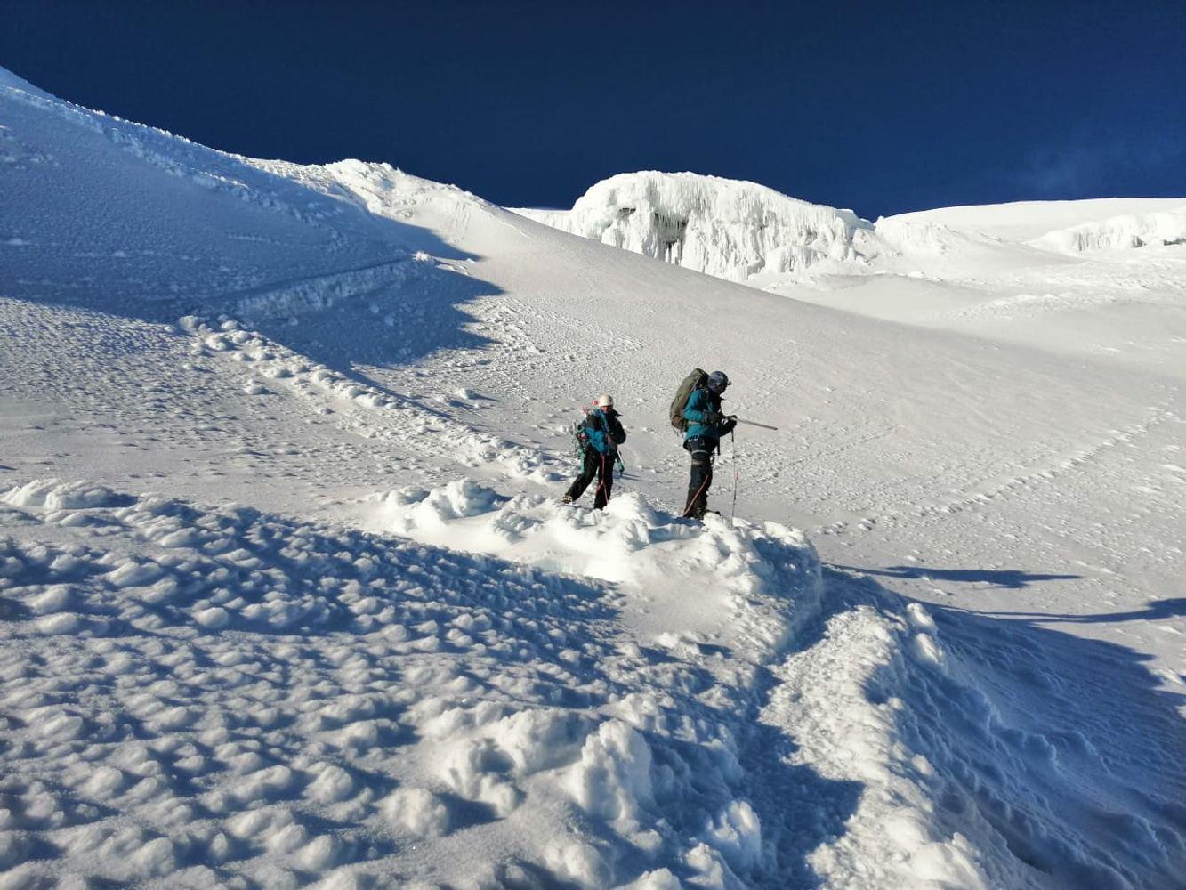 Mountain Climbing - Huascaran Peru