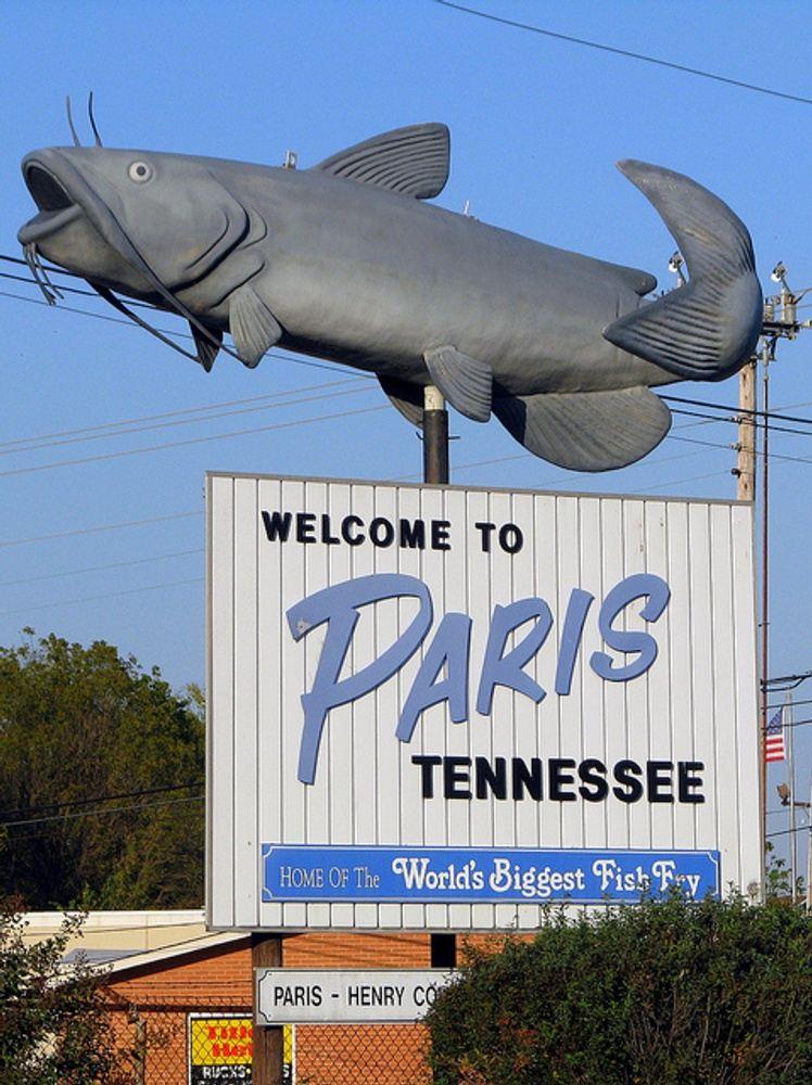 """World's Largest Fish Fry"""