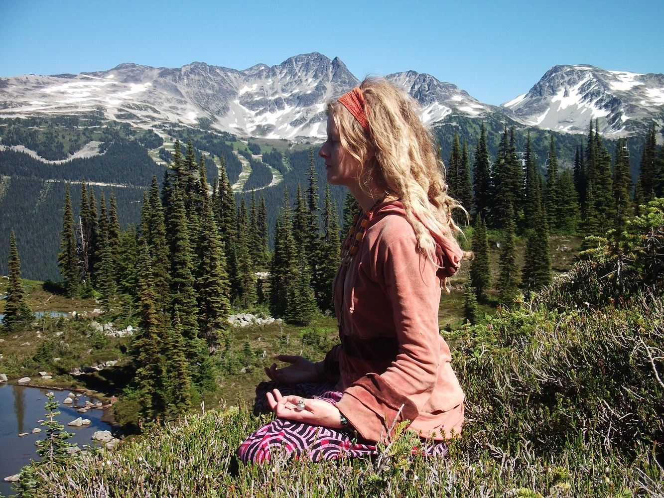 Mother Nature Meditation, yoga and reunion retreat in BC, Canada,
