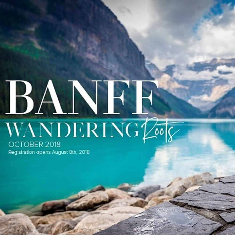 Beautiful Banff Yoga Retreat