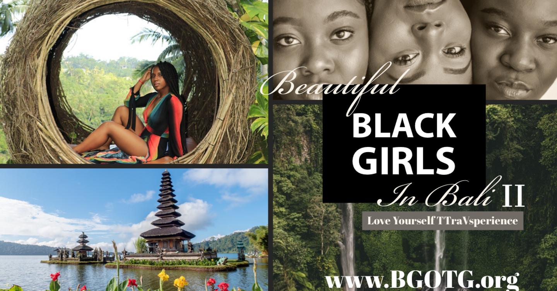 Beautiful Black Girls in Bali II