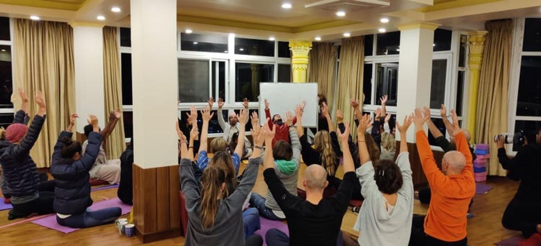 21 Days life Transformational Yoga Retreat in Nepal