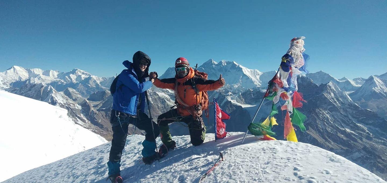 19 days Mera Peak climbing
