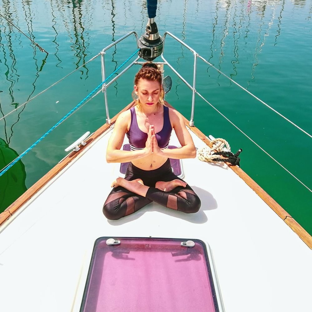 8 Days 7 Nights Sailing & Yoga in Greece Join us from 23/3/19-26/10/19