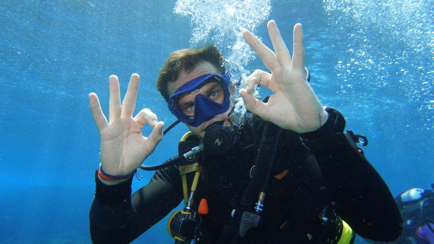 Deposit for your diving course with Bubble Addict