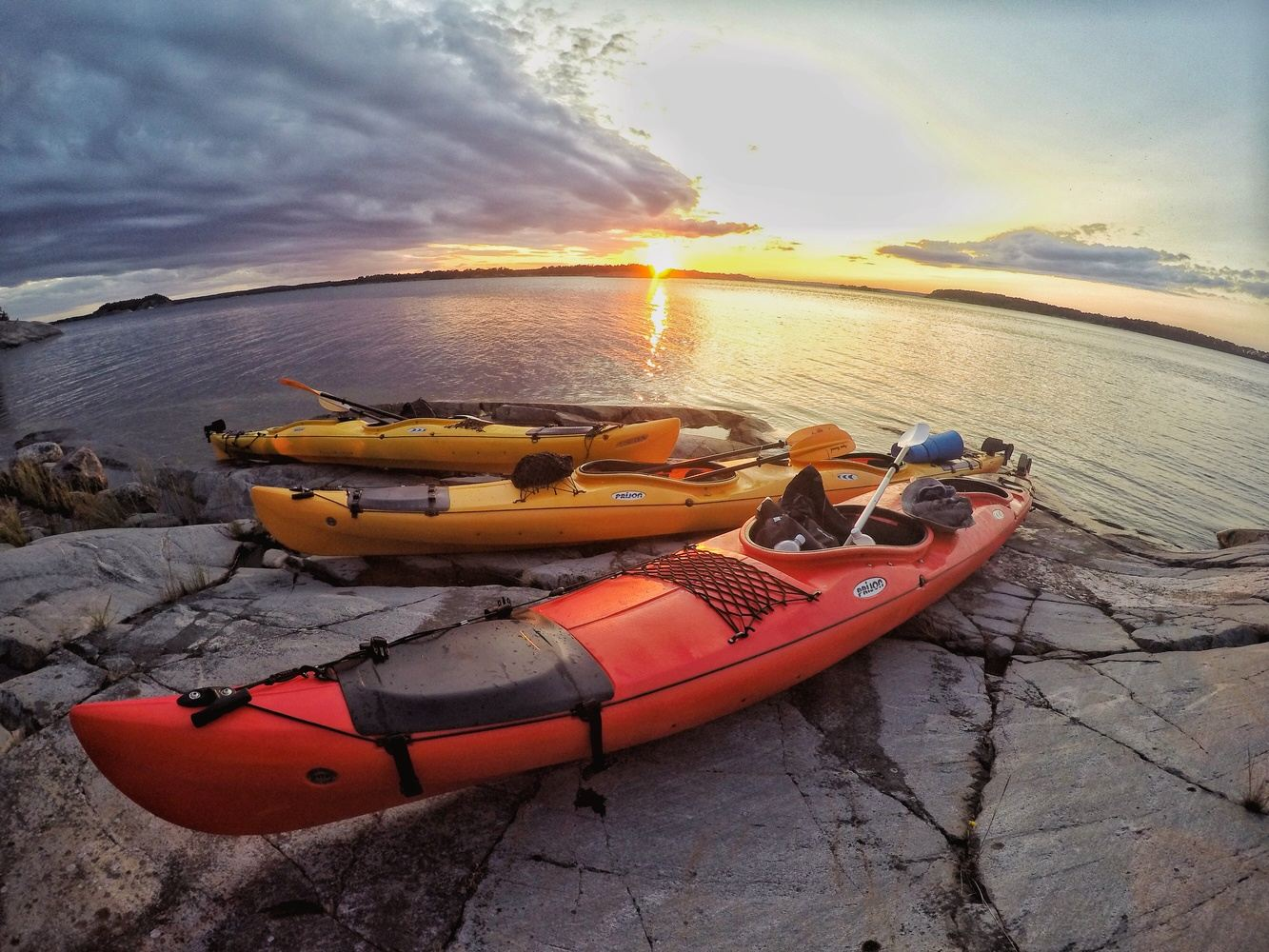 Kayaking and wild camping the Stockholm Archipelago