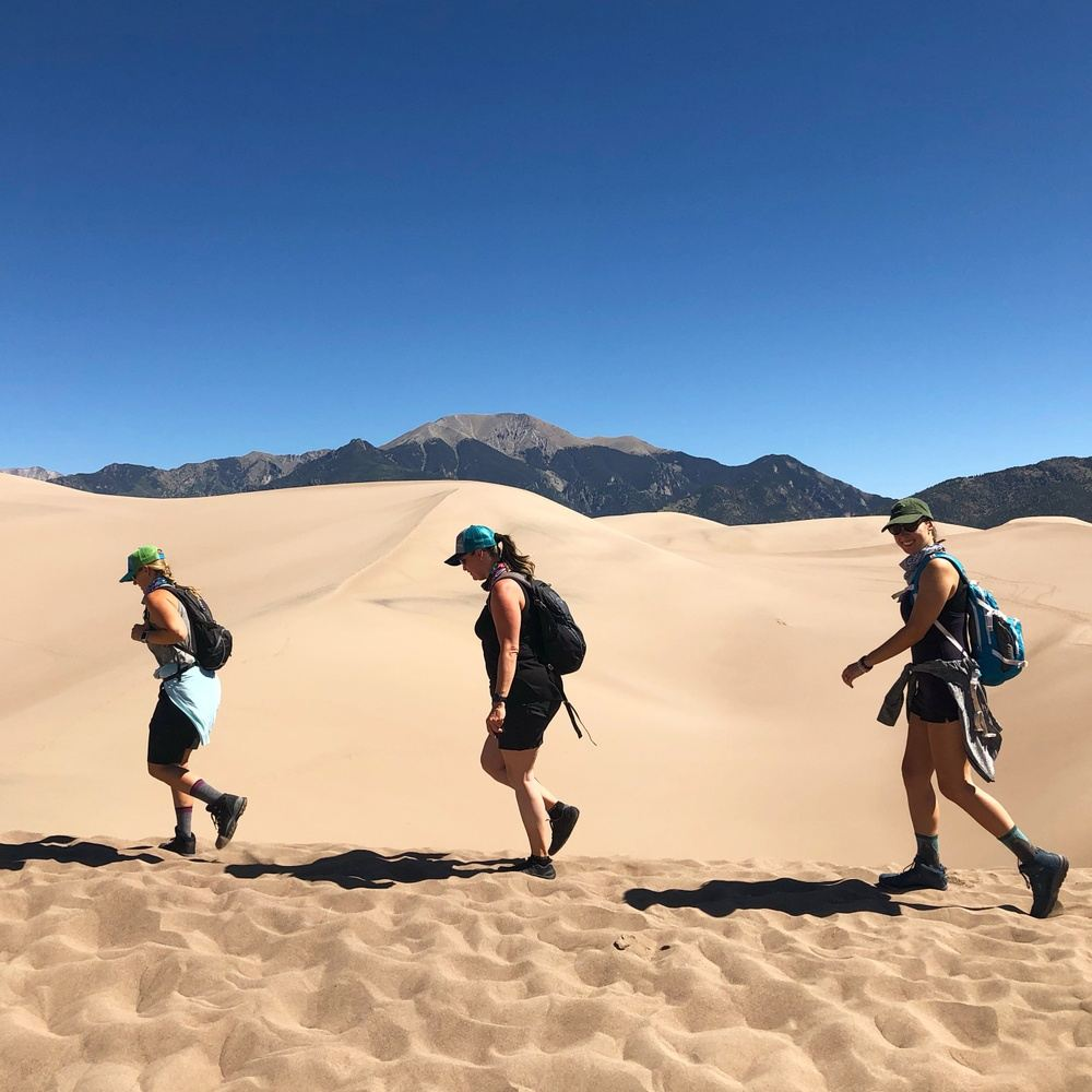 Great Sand Dunes & Hot Springs Yoga+Hiking Adventure