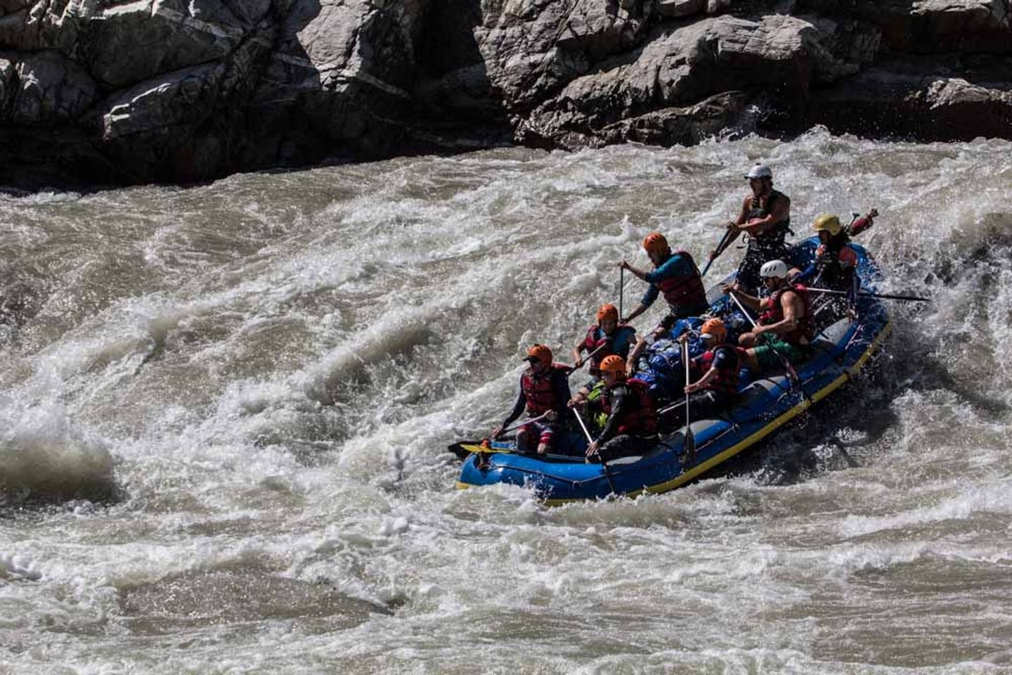 Yoga Rafting Expedition in the Himalayas