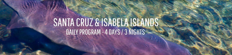 ISLAND HOPPING PACKAGE SANTA CRUZ AND ISABELA ISLANDS
