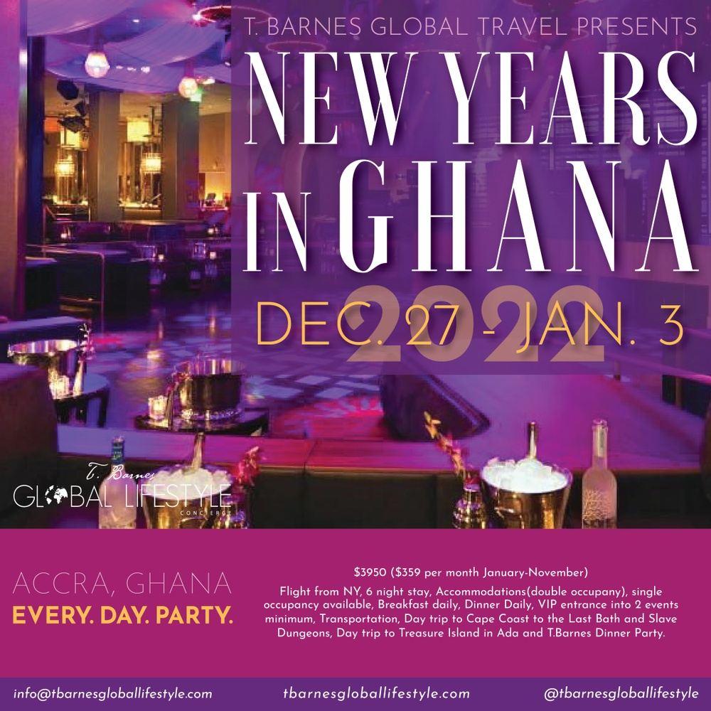 New Year's in Ghana 2022