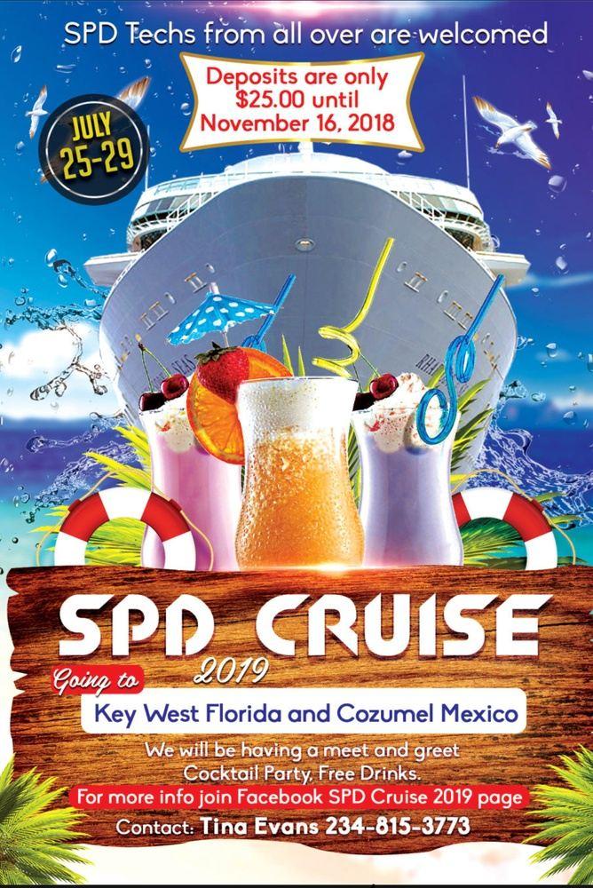1st Annual SPD Cruise 2019