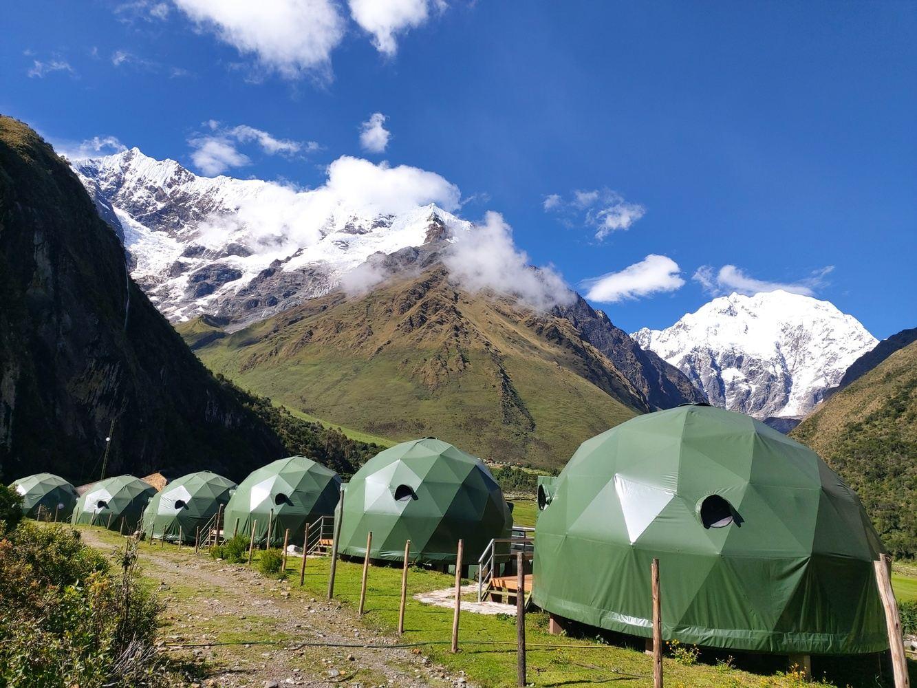 Salkantay Trek & Humantay Lake by Glamping in Domes 2 days