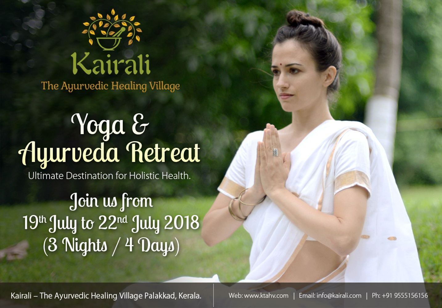 Yoga and Ayurveda retreat at the Kairali Ayurvedic Healing Village