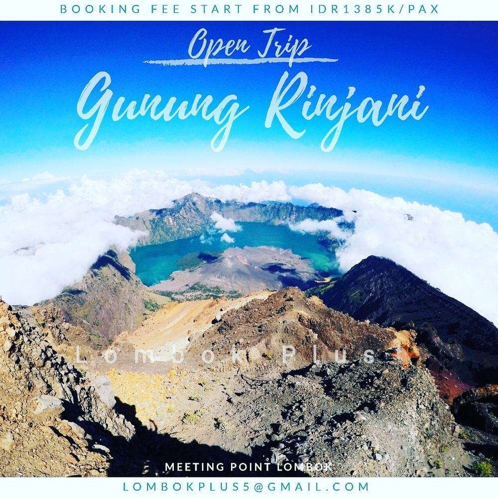 Hiking Mount Rinjani Lombok