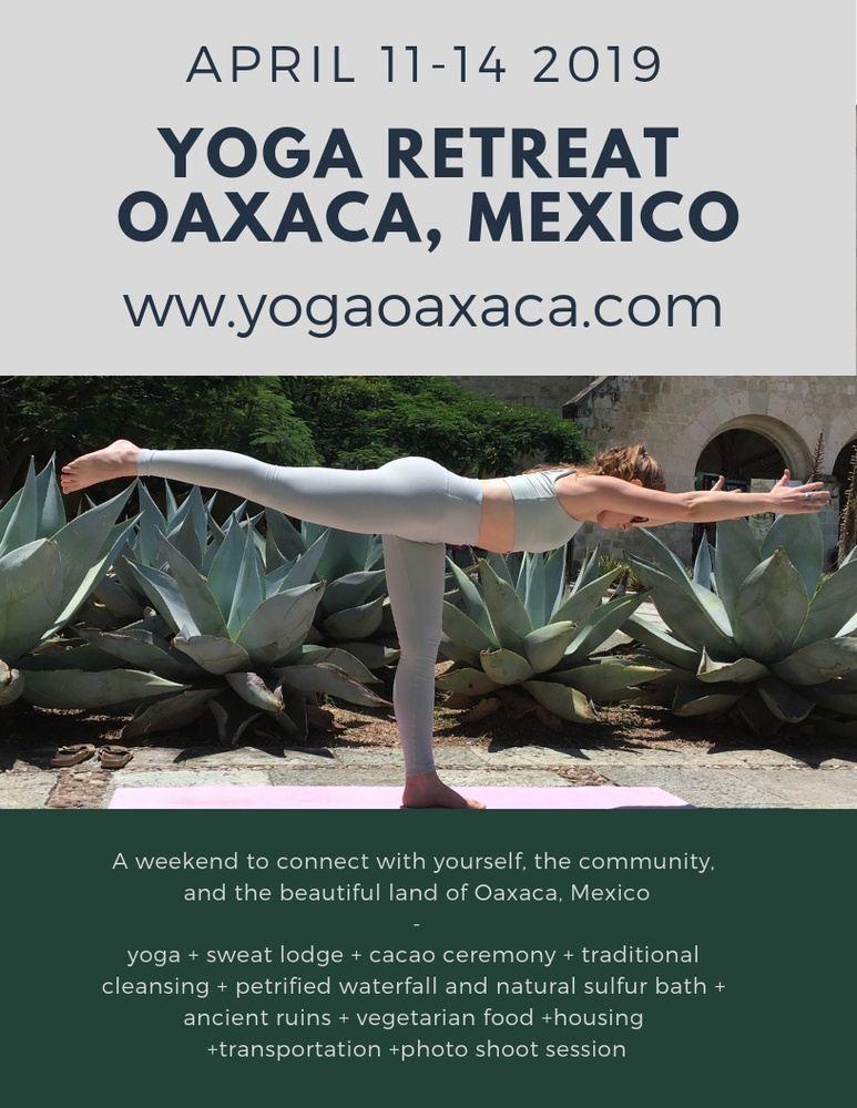 Yoga & Healing Retreat Oaxaca Mexico