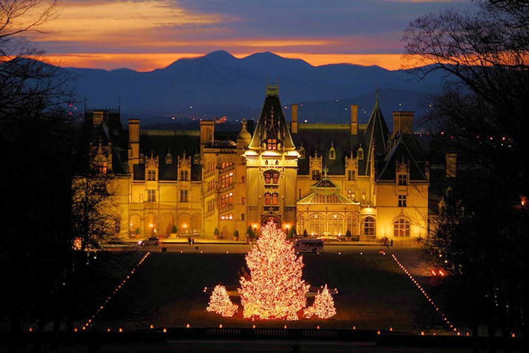 Biltmore Christmas.Christmas At Biltmore In Asheville Nc Usa