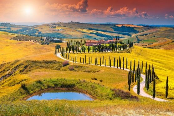 Relax and beauty in Tuscany, land of the Renaissance, 7 days