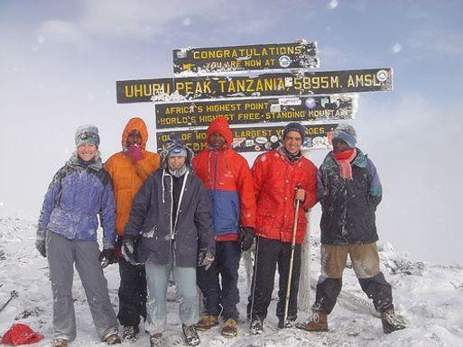 On Top of Africa Mt. Kilimanjaro