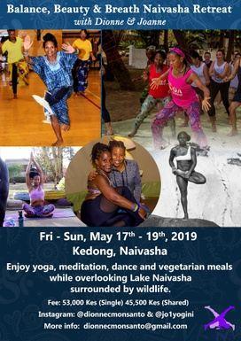 Balance, Beauty & Breath Naivasha Retreat