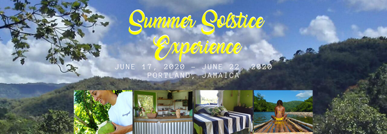 Summer Solstice 2020 Experience at The Land of Oshun, Portland, JA