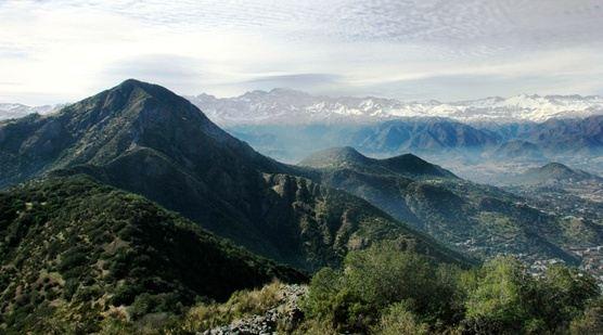 PRIVATE Halfday hike in Santiago