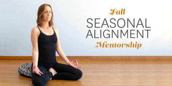 Fall Seasonal Alignment Mentorship