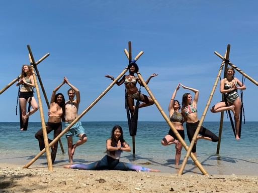 7 Day 50-Hr Aerial Yoga Teacher Training in Thailand