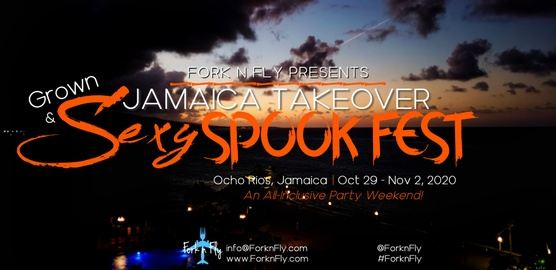"""Fork n Fly presents """"Grown & Sexy Spook Fest"""""""