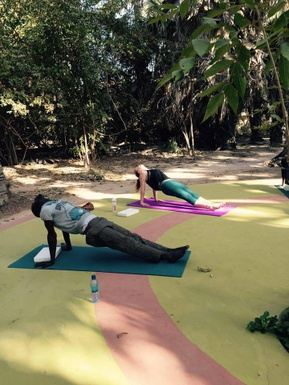 Revitalise and restore Yoga in sunny Gambia