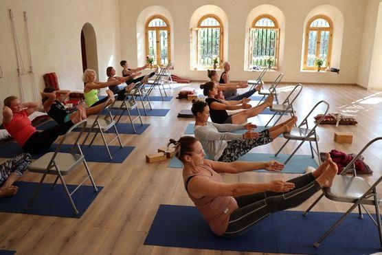 8 Days Iyengar Yoga Retreat with Gaetane Valazza in Morocco