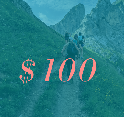 $100 USD Runcation Travel Gift Card