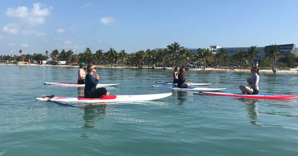 3 Day Yoga Water Teacher Training Sup Yoga Water Ceremony Yacep In Miami Fl United States