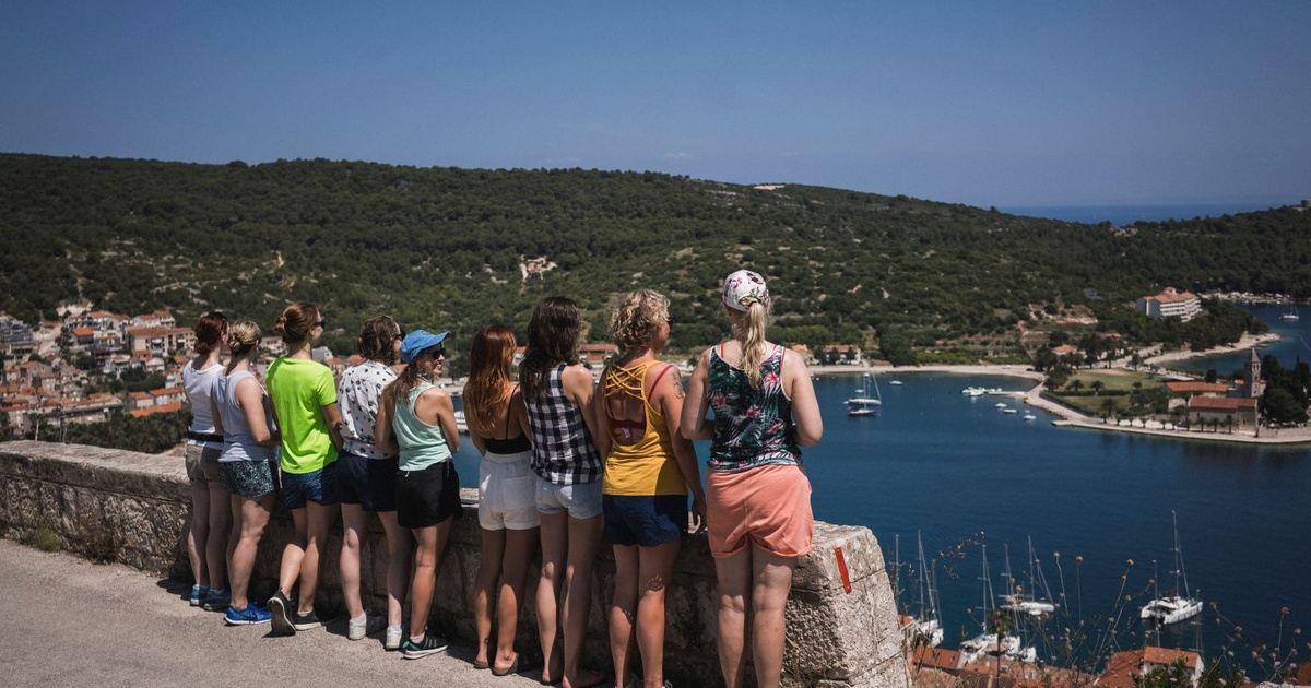 Adventure Yoga Retreat Around The Island May In Vis Croatia