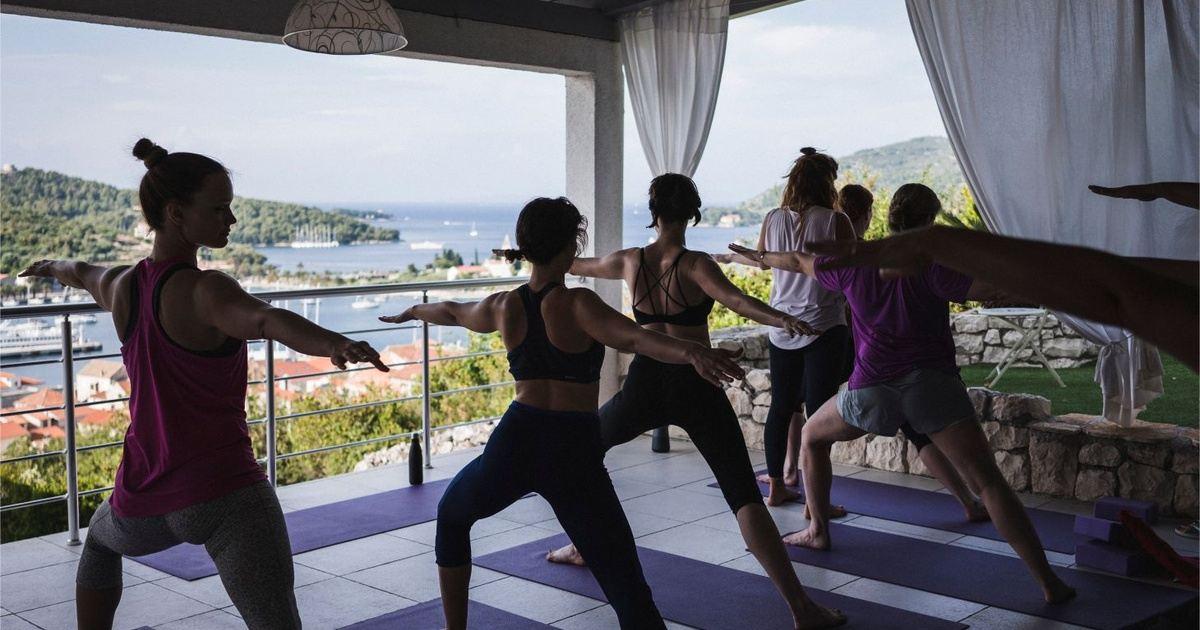 Adventure Yoga Retreat Into The Sea May In Vis Croatia