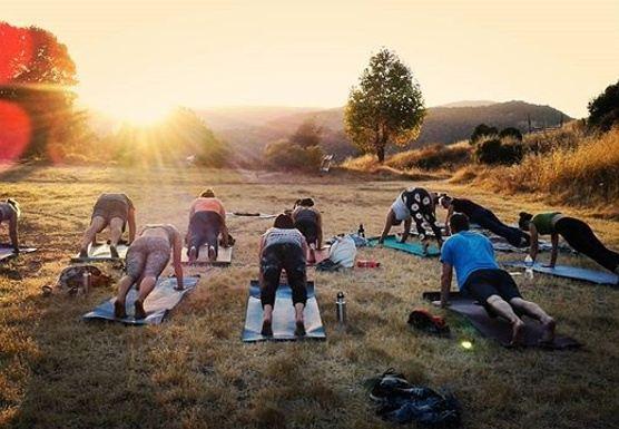 Sunset Yoga + Full Moon Savasana