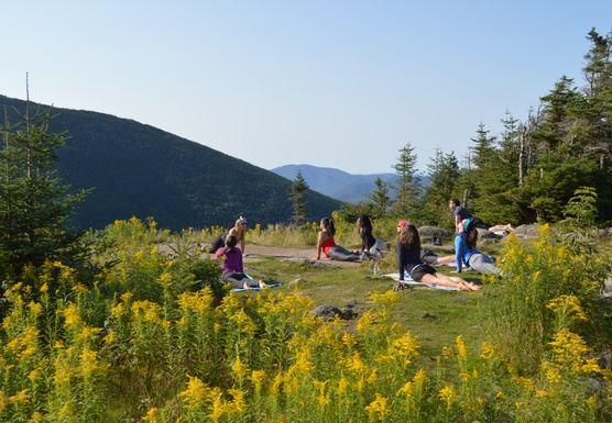 Galehead Yoga Retreat ( The Twins)