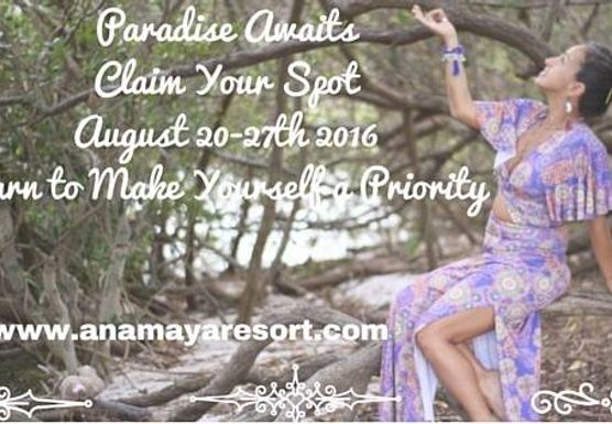 Retreat in Paradise for The Goddess within with YOGA, Movement, and MUCH MORE, 6th EDITION!!