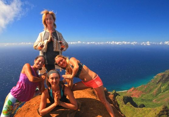 Kaua`i Yoga Retreat 2018