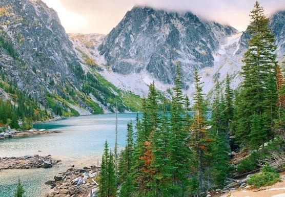 Cascade Mountains, WA. Running Getaway